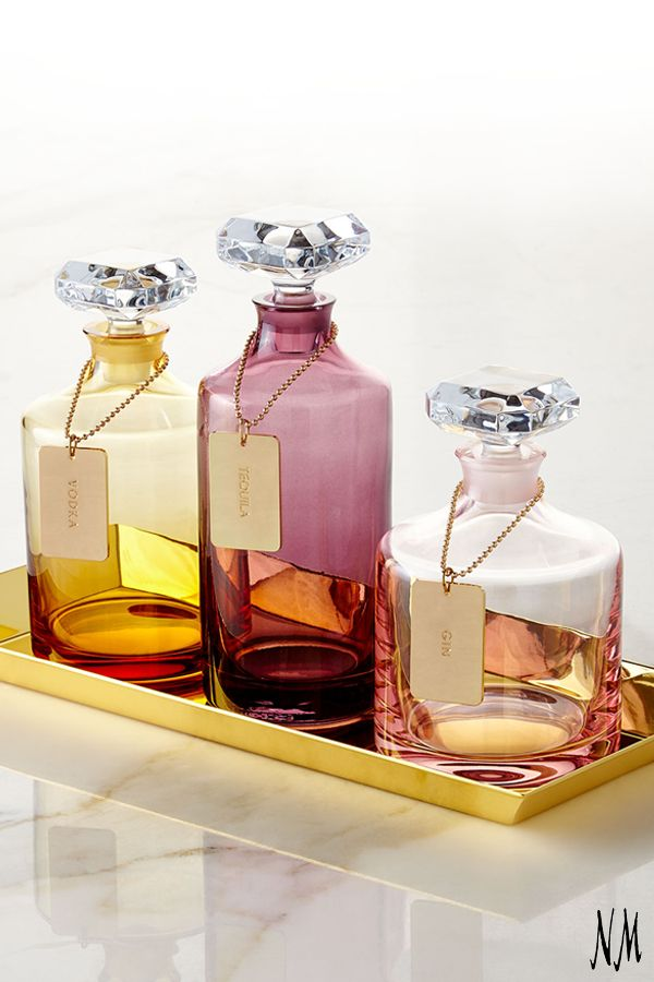 Cheers to these glamorous Waterford decanters that just made Girls' Night In a necessity.