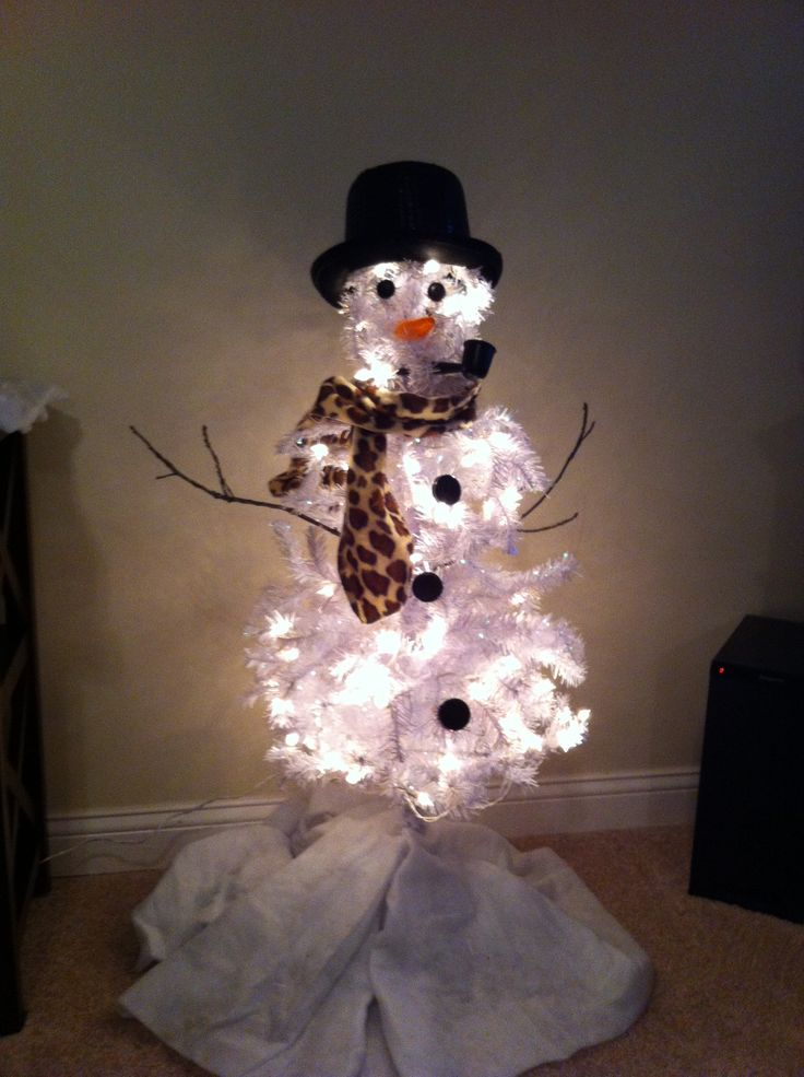 17 Best images about Snowman tree on