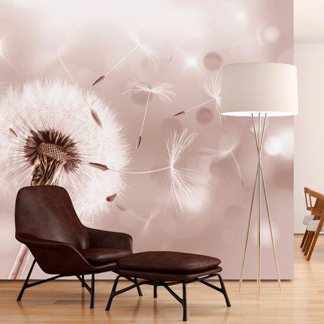 details zu fototapete pusteblume natur bokeh vlies tapete. Black Bedroom Furniture Sets. Home Design Ideas