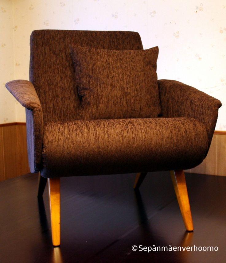 Retro nojatuoli ja tyyny
