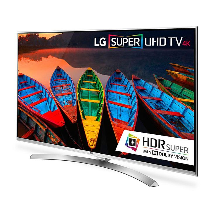 """LG 55"""" 4K Ultra HD 3D Smart TV with Quantum Display, HDR Super / Dolby Vision and WebOS 3.0"""