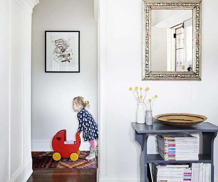 A young family renovates the interiors of their Melbourne home to make way for kids, with a child-friendly and adult-friendly design.