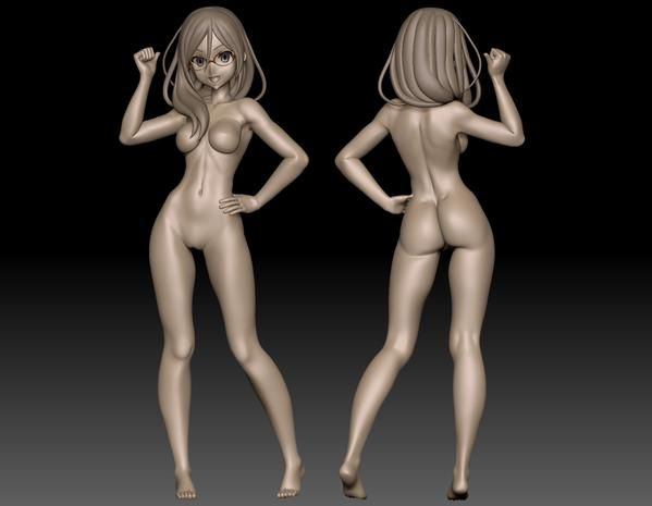 Female : Anime Stylized Body Sculpt