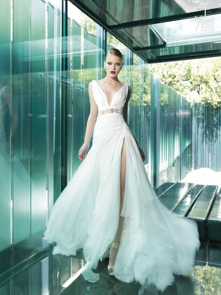 13 best Yolan Chris images on Pinterest | Short wedding gowns ...