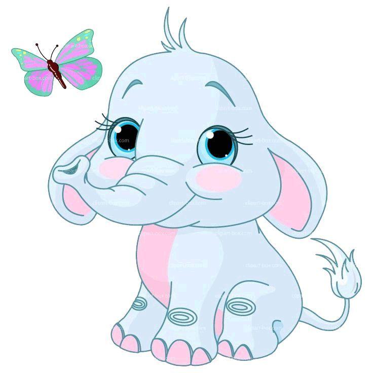 Resultado De Imagen De Elefante Bebe Dibujo Elephant Clip Art Elephant Art Cartoon Elephant