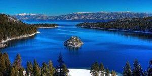 Озеро Тахо, Калифорния и Невада, США