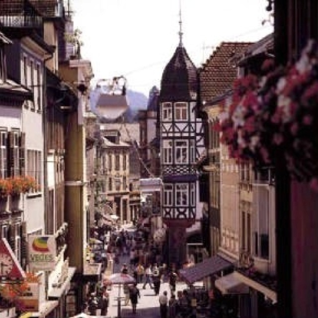 Umbrella Stand Homebase: Beautiful Lahr Germany, This Was Home Base For Us Canadian