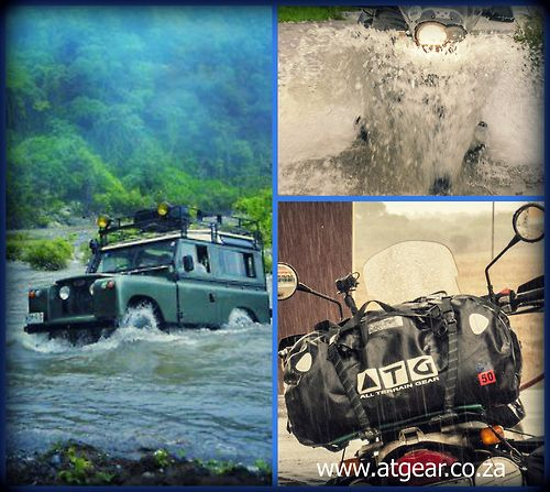 Tumblr Waterproof duffel bags, Overland gear, motorcycle travel equipment