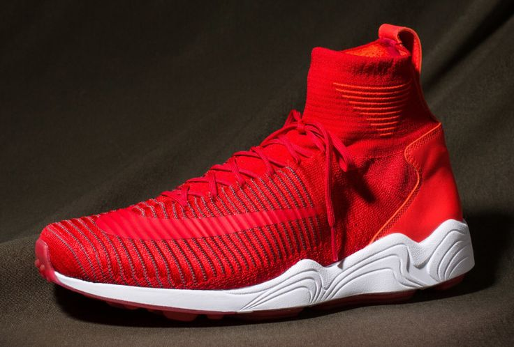 nike air max 1 lunaire - Nike Zoom Mercurial Flyknit Goes Red | Solecollector | Nike ...