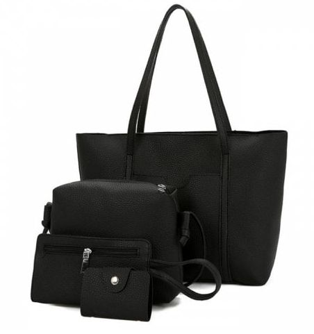 Faux Leather 4 Pieces Shoulder Bag Set 469 .ECA Listing By Wedding Party Store NORA, Macedonia