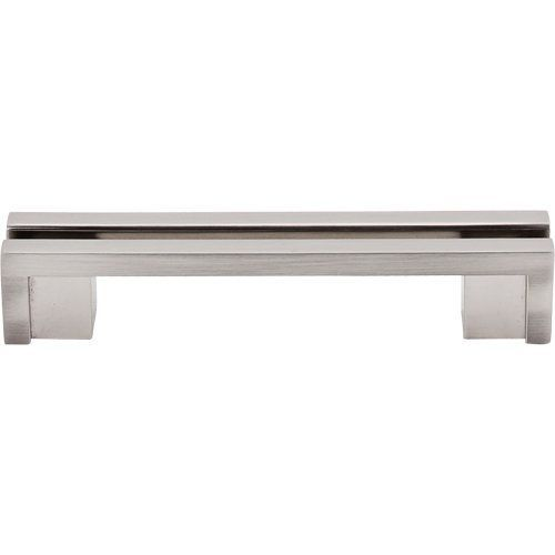top knobs sanctuary inch center to center handle cabinet pull brushed satin nickel cabinet hardware pulls handle