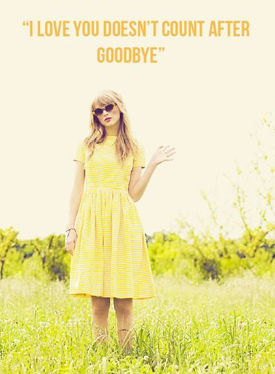 """Taylor Swift secret messages in the lyrics book. State of Grace- """"I LOVE YOU DOESN'T COUNT AFTER GOODBYE"""""""
