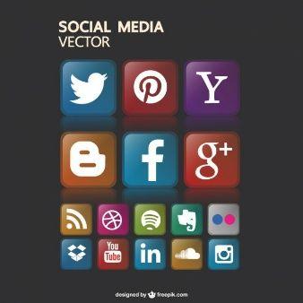 Free social media icons gaphics