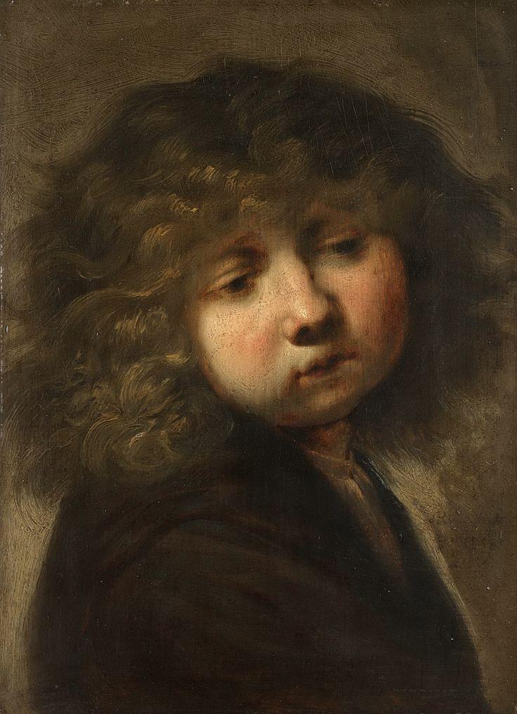 Rembrandt Harmensz. van Rijn -- Jongenskopje, 1643