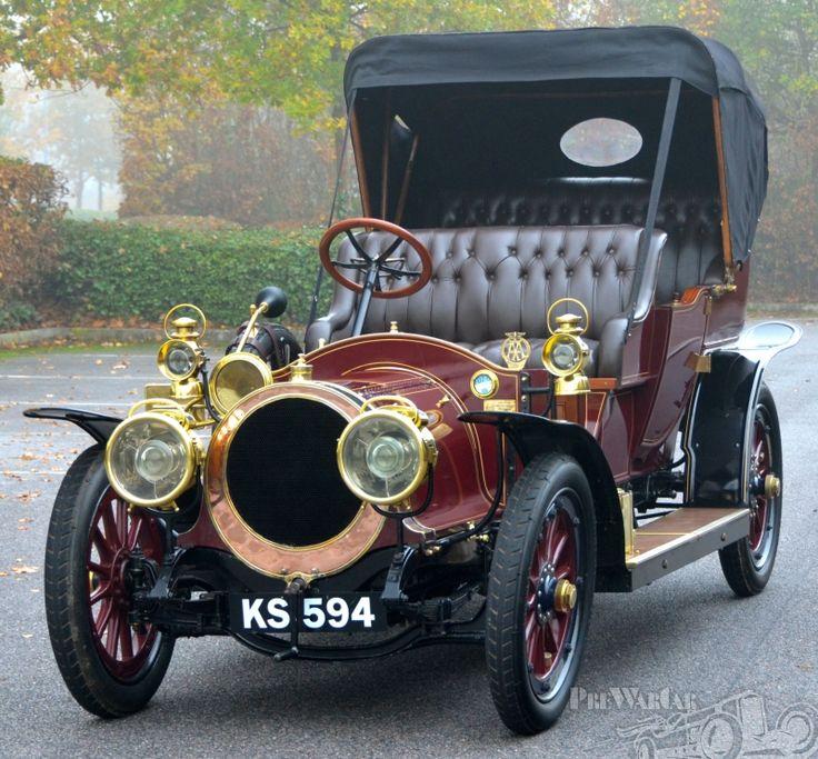 1911 Delauney-Belleville -100 built that year w/ 3 known to survive