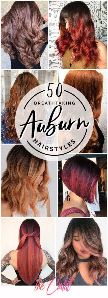 50 idées de cheveux Auburn incroyables pour transformer votre look