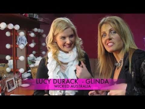 BACKSTAGE WITH LUCY DURACK IN HER SYDNEY WICKED DRESSING ROOM!!!