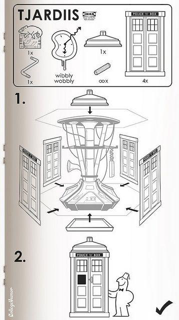Ikea Tardis!
