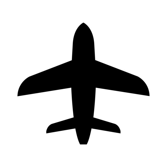 Airplane Icon Airplane Icons Eps Banner Png And Vector With Transparent Background For Free Download Airplane Icon Airplane Vector Silhouette Vector