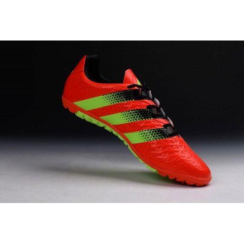Salg Adidas ACE Fodboldstøvler - Bedst 2017 Adidas ACE 15.1 TF Rod Fodboldstovler