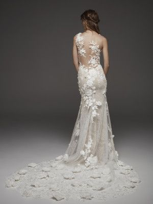 hydra: vestido de novia sirena de talle a la cintura quese inspira