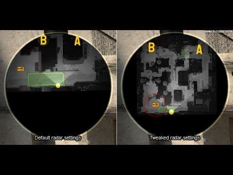 CS:GO RADAR SİZE/ZOOM/MAP WHOLE MAP/RADARDA BÜTÜN HARİTAYI GÖRME