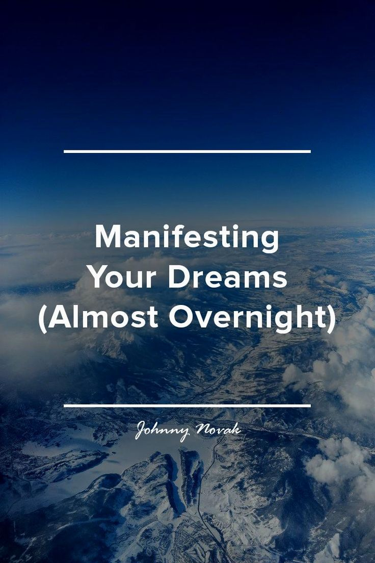 How to Manifest So Quickly You'll Think You Have