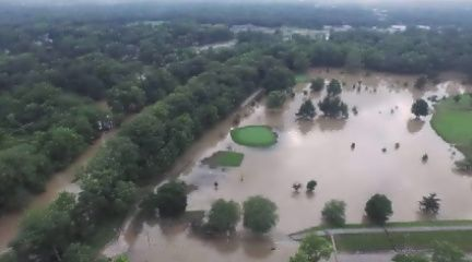 Drone footage shows Fort Wayne parks covered in floodwater | 21Alive: News, Sports, Weather, Fort Wayne WPTA-TV, WISE-TV, and CW | Local
