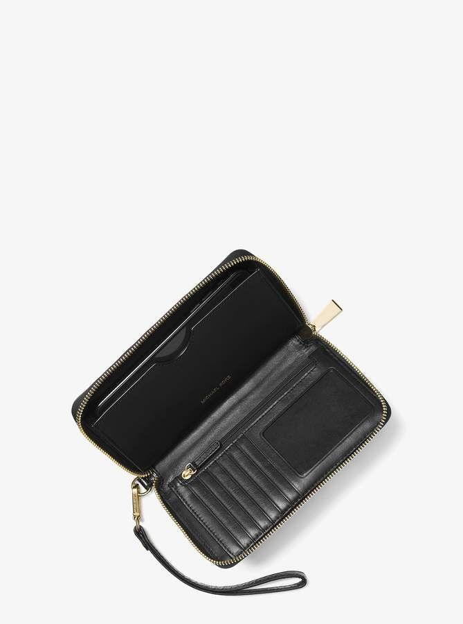 2ce2a2250463 MICHAEL Michael Kors Jet Set Snakeskin Smartphone Wristlet ...
