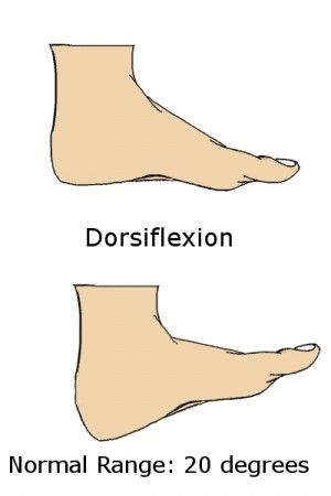 Exercises and stretches to increase strength and flexibility of ankle. Dorsiflexion