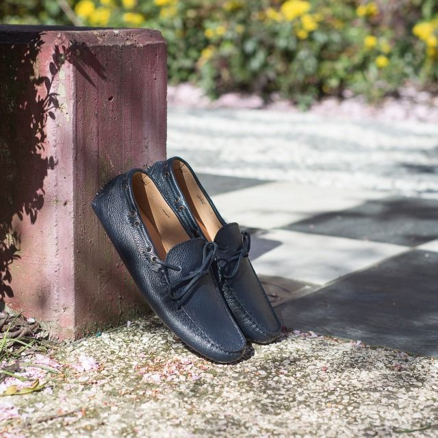 """""""Our prime purpose in this life is to help others. And if you can't help them, at least don't hurt them."""" Dalai Lama  Aristocratic, our #moccasins in blue tumbled leather available online at www.velasca.com. Link in profile to #shop.  #velascamilano #madeinitaly #shoes #shoesoftheday #shoesph #shoestagram #shoe #fashionable #mensfashion #menswear #gentlemen #mensshoes #shoegame #style #fashion #dapper #men #shoesforsale #shoesaddict #sprezzatura"""