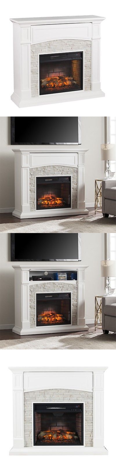 Other Handcrafted Home Accents 160657: Seneca Infrared Electric Media Fireplace -> BUY IT NOW ONLY: $585.44 on eBay!