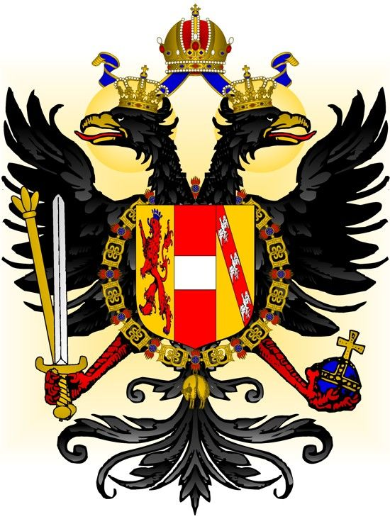 François-Joseph (Franz Joseph) Ier de Habsbourg-Lorraine (Vienne, 18 août 1830 - Vienne, 21 novembre 1916) Archiduc d'Autriche Empereur d'Autriche (1848), Roi de Bohême (1848), Roi de Hongrie (1848), Roi de Lombardie-Vénétie (1848-1866) Président de la Confédération Germanique (1848-1866) 18e Chef et Souverain de l'Ordre de la Toison d'Or (1848, Autriche)