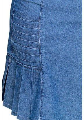848436b72a saia jeans clara evase pregas laterais dyork viaevangelica frente detalhe 2