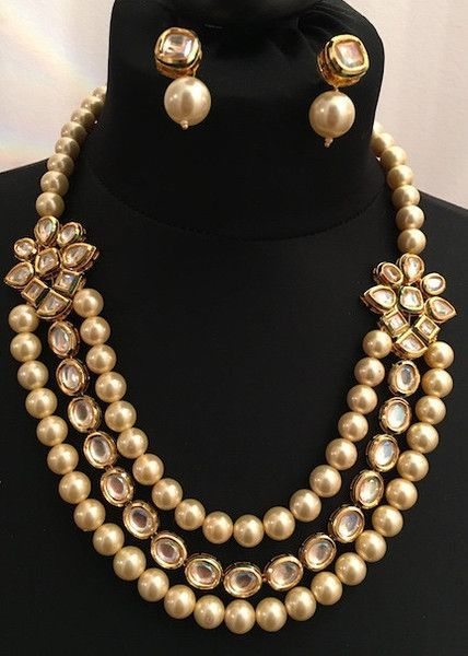 This luxurious necklace set is made with finest quality kundan and pearls. The kundan work is hand crafted with hand painted meenakari work. Earrings are included in this set. - jewelry and accessories, jewelry stores nearby, jewelry designers *sponsored https://www.pinterest.com/jewelry_yes/ https://www.pinterest.com/explore/jewelry/ https://www.pinterest.com/jewelry_yes/wholesale-jewelry/ https://www.outofprintclothing.com/collections/jewelry