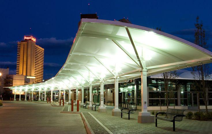 tensile canopy walkway