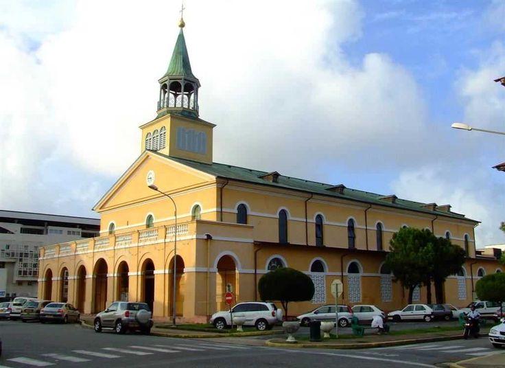 Cathédrale de Cayenne (la capitale de la Guyane)