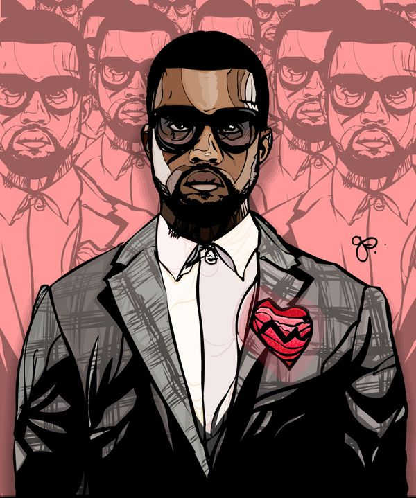 <b>Say what you will about Yeezy, the man is the perfect muse for the masses.</b>