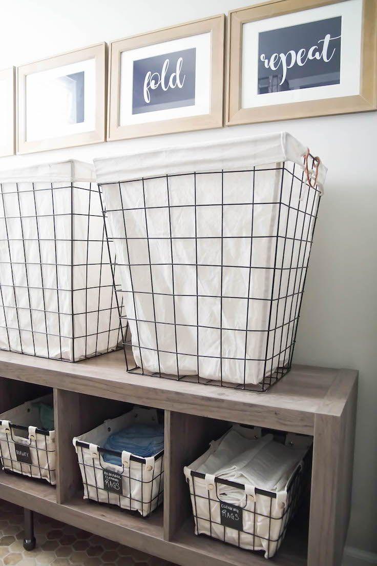 Laundry Room Organization Via Simply Designing Laundry