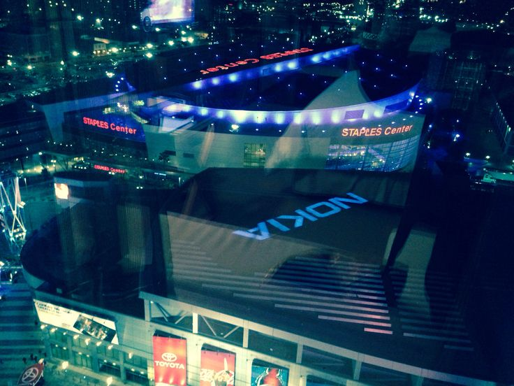 View from my room at LA Live