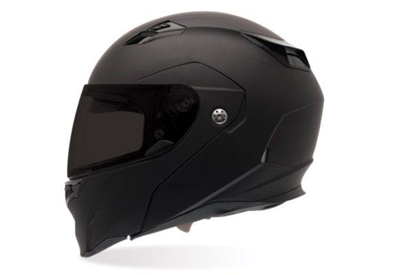 Bell Revolver Evo Matte Black Full Face Helmet   541-954   J&P Cycles