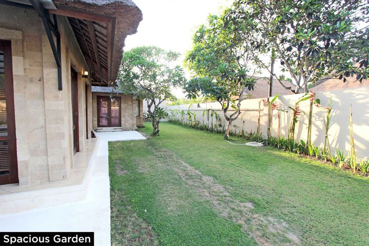 Spacious Garden • PRIVATE POOL VILLA ON SANUR, BALI • FOR SALE • 800m2 land area • 2 Bedroom villa with private pool • Gated estate with expatriate villas • 24 hours security • 500 metres from bypass Sanur • 25 years leasehold • For Enquiries: (+62) 0819 9941 1123 • Email: info@villakambojasanur.com