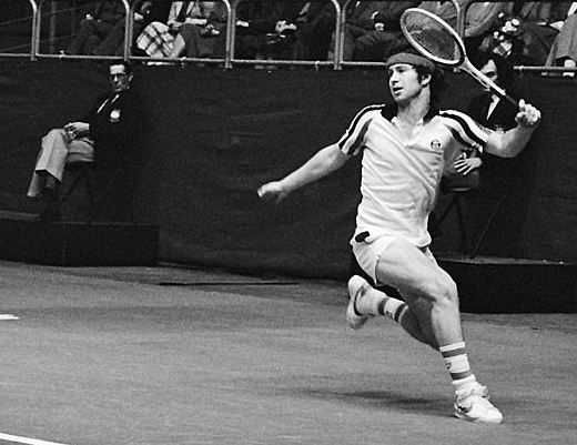 John McEnroe, top 10 tennis players (Men) in history   http://www.sportyghost.com/greatest-tennis-players-of-all-time-men/ #tennis