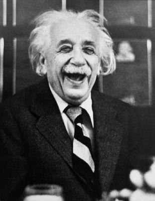 ~ smiling Einstein ~