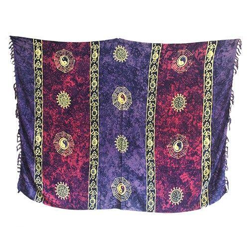 Bali Celtic Sarongs - Yin and Yang #Celtic #Sarongs #Bali #Scarves