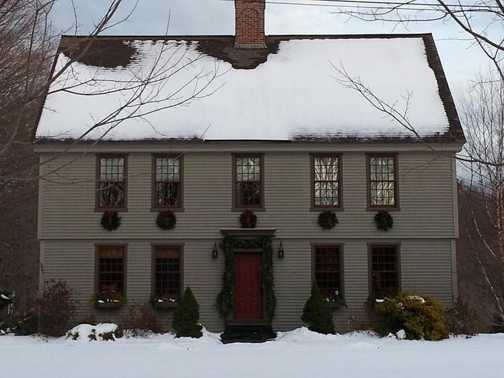 609 Best Colonial/Primitives Buildings Images On Pinterest