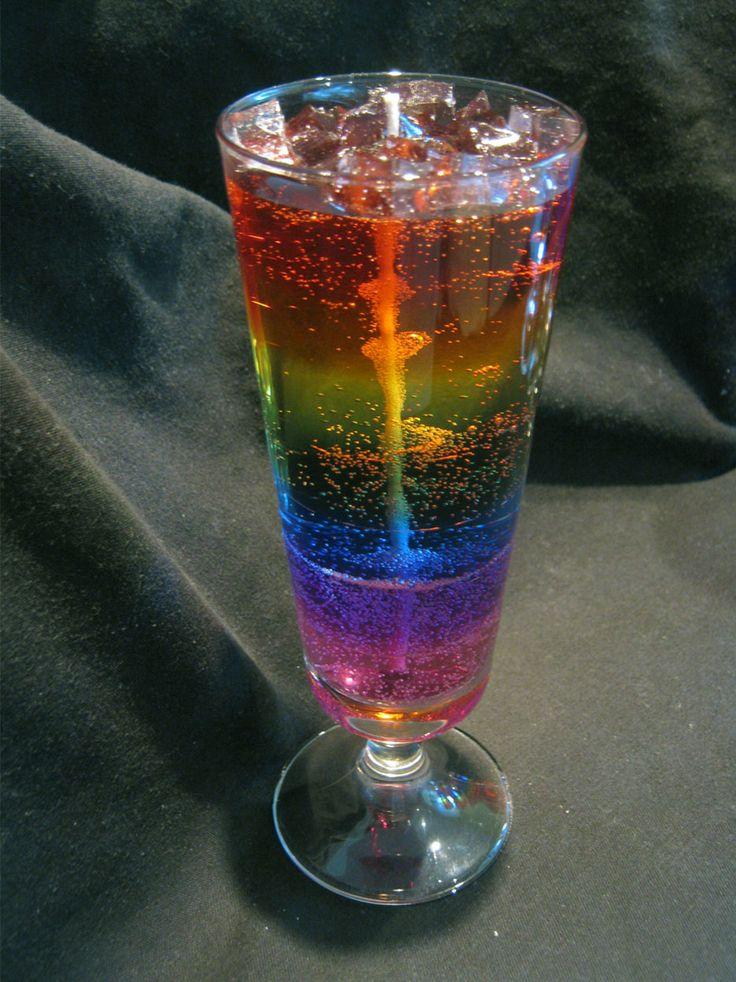 Rainbow Gel Candle                                                                                                                                                     Más