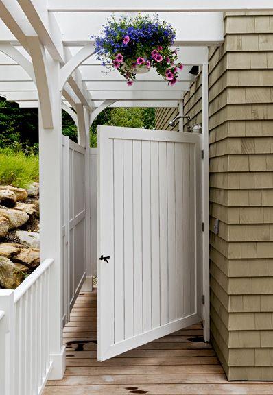 John Morris Architect | Outdoor Shower