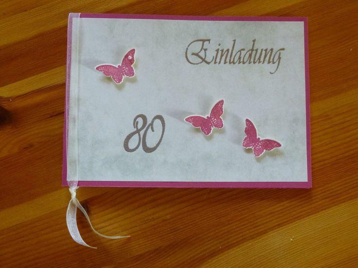 einladung geburtstag : einladung zum 80 geburtstag - Geburstag Einladungskarten - Geburstag Einladungskarten