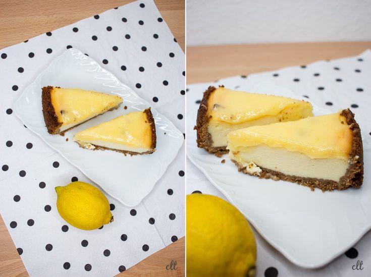 Lemoncurd Cheesecake - darf ich vorstellen: mein Geburtstagskuchen! | Creative Little Things